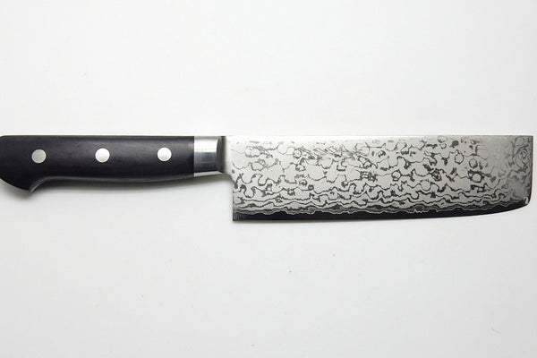 VG-10 17 Layers Damascus, HRB Nakiri 160mm