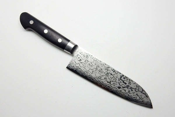 VG-10 17 Layers Damascus, HRB Santoku 165mm