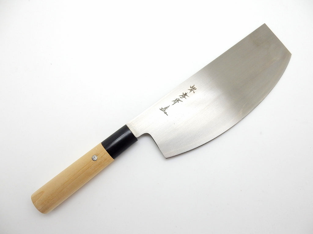 INOX Molybdenum Stainless Steel/Sushi Kiri  (Sushi Knife /Double bevel)