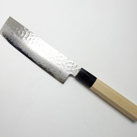 45 Layers Hammered Damascus Japanese Style Nakiri 160 mm