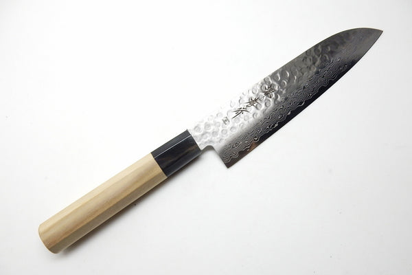 45 Layers Hammered Damascus Japanese Style Santoku 180 mm