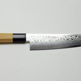 Cobalt Stainless ZAD 69 Layers High Light Damascus Santoku 180 mm