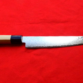 Cobalt Stainless ZAD 69 Layers High Light Damascus Sujihiki 240 mm