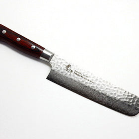VG-10/ 33 Layers Hammered Damascus Nakiri Knife 160mm