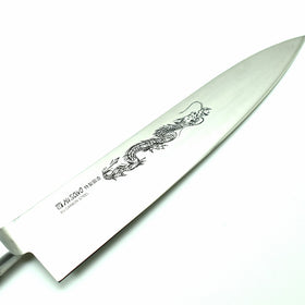 Professional EU Sweden Steel, Gyuto, with Dragon Engraving