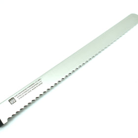 INOX 1141 Guaranteed Wave Bread Knife 300mm,w/Saya Cover
