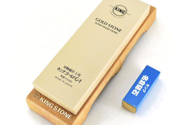 Finition Whetstone, GOLD G-1/Highest grade #8000 - Nagura Surface Grinding Stone