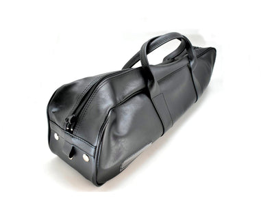 Synthetic Leather Knife Culinary Bag (Black)