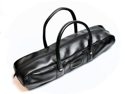 Synthetic Leather Knife Culinary Bag (Small/Black)