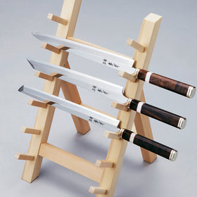 Wooden Knife Stand for 3 knives/6 knives