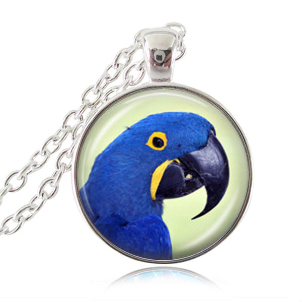 Colorful Parrot Chain Necklace