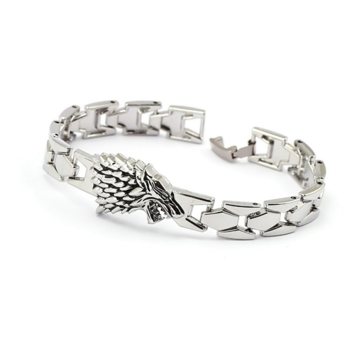 Game Of Thrones Direwolf Men's Charm Bracelet