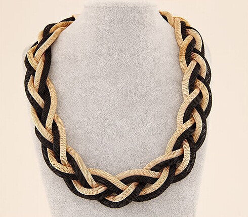 Best Seller American simple Twisted Metal Bohemian necklace