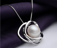 Cultured Freshwater White Big Pearl Necklaces & Pendants