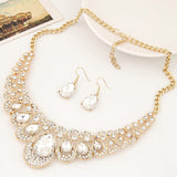 New Rasha Large Statement Bib Pendant Necklace