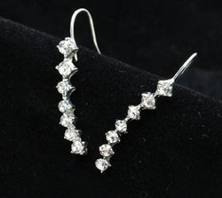 Rasha Special Seven Stars Trendy Jewelry Beautiful Ear row Earrings for women