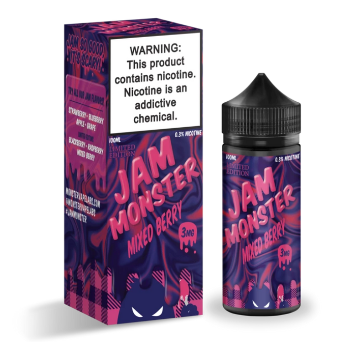 Jam Monster - Mixed Berry (Limited Edition)