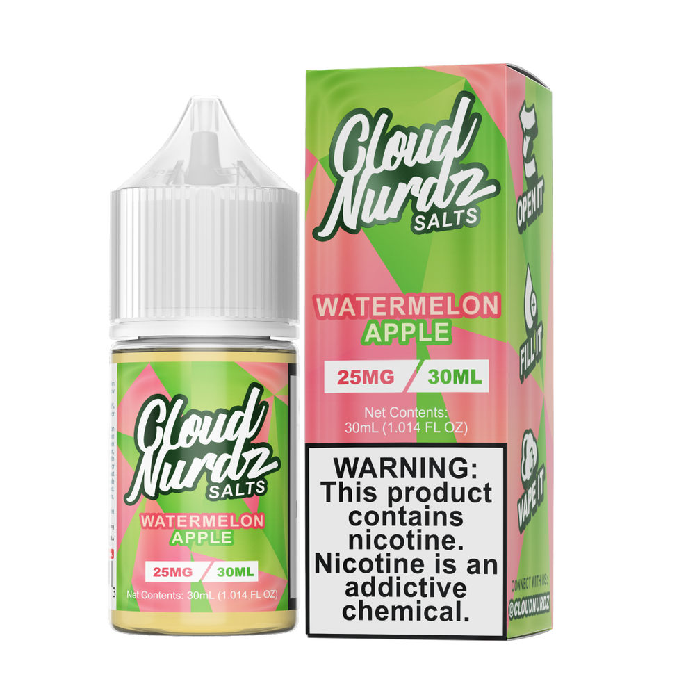 Cloud Nurdz SALT - Watermelon Apple