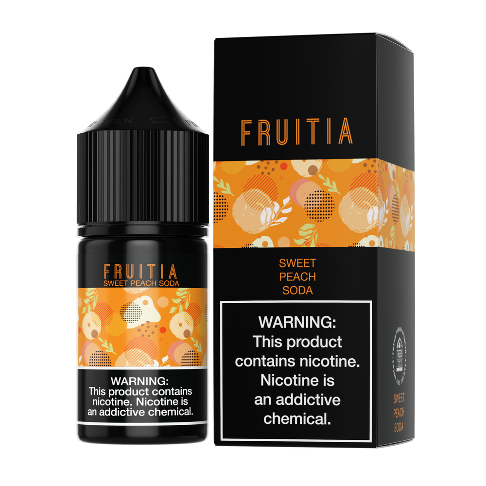 Fruitia Salts - Sweet Peach Soda