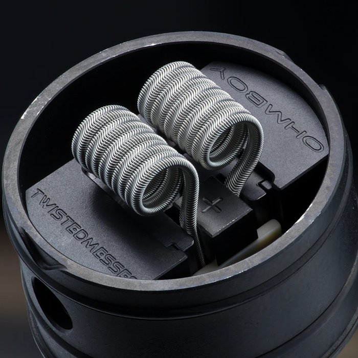 Cloud Revolution - 'Game Over Man' Pre-buildable Coils