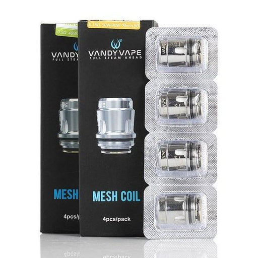 Vandy Vape - Mesh Replacement Coil (4 Pack) // Trident, Jackaroo, Swell