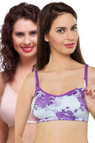 Organic Antimicrobial Soft feeding Bra ( Pack of 2 )