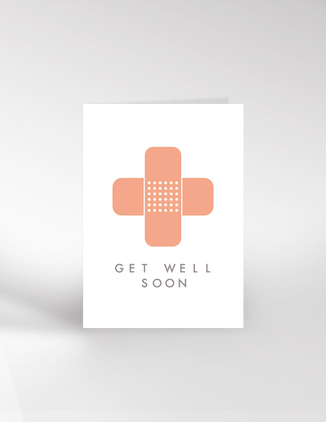 Dicky Bird Get Well Soon Card
