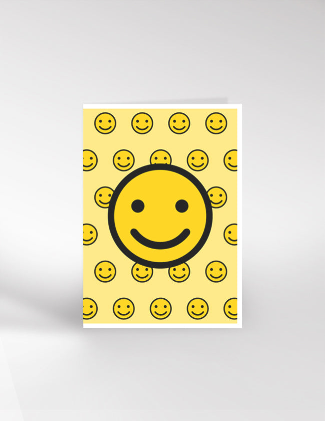 Dicky Bird Smiley Card