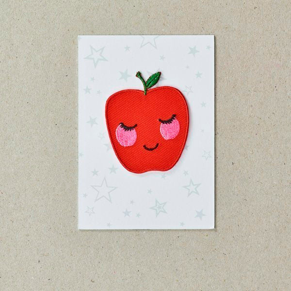 Iron On Patch - Apple