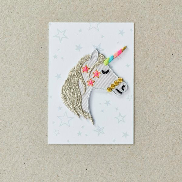 Iron On Patch - Unicorn Head