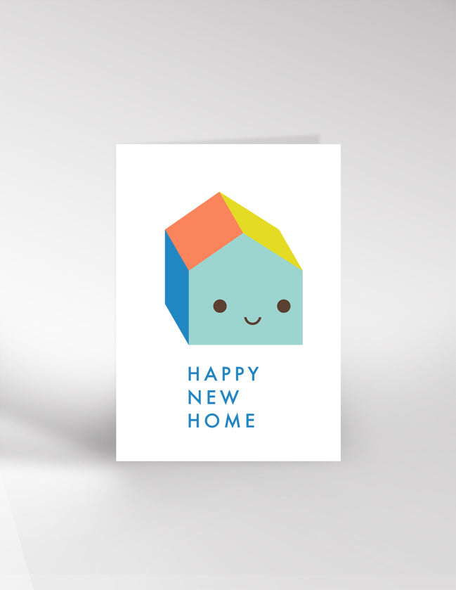 Dicky Bird New Home Card