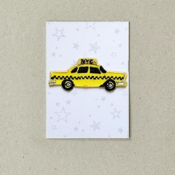 Iron On Patch - NY Taxi