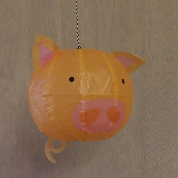 Japanese Paper Balloon - Pig - ANNUAL STORE