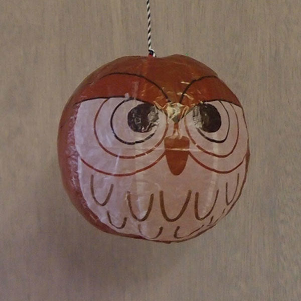Japanese Paper Balloon - Owl - ANNUAL STORE
