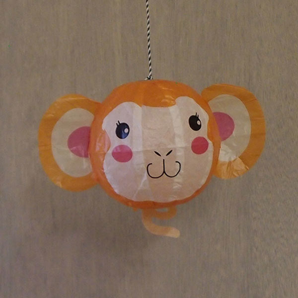 Japanese Paper Balloon - Monkey - ANNUAL STORE