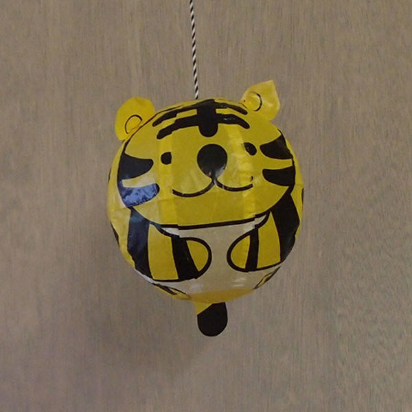 Japanese Paper Balloon - Tiger
