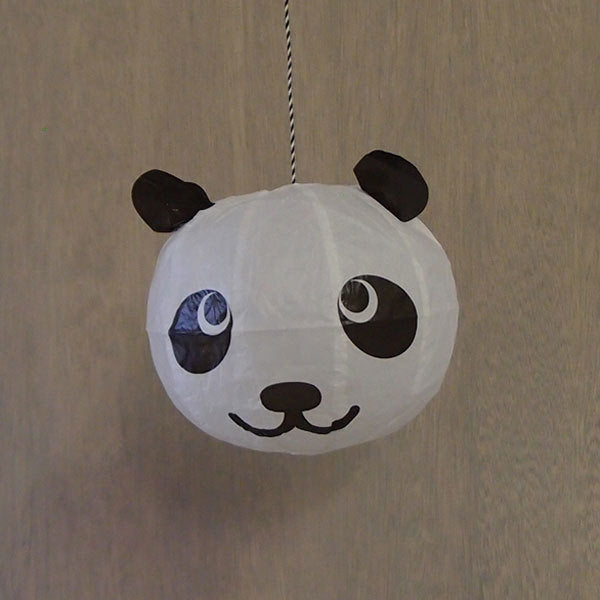 Japanese Paper Balloon - Panda - ANNUAL STORE