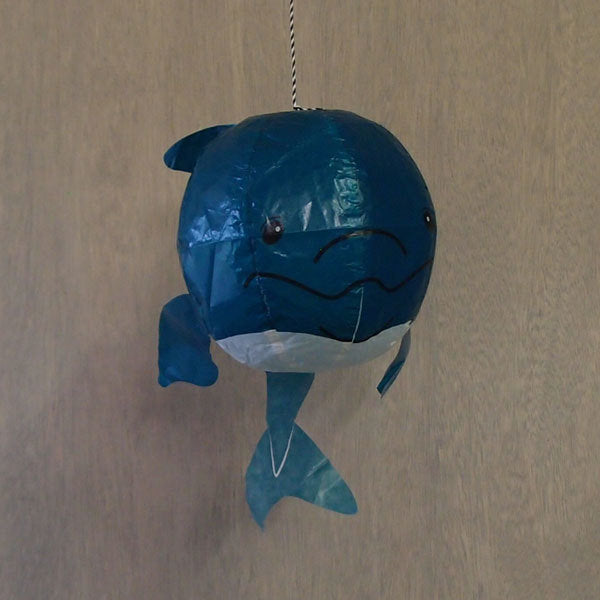 Japanese Paper Balloon - Blue Whale - ANNUAL STORE