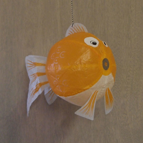 Japanese Paper Balloon - Orange Fish - ANNUAL STORE