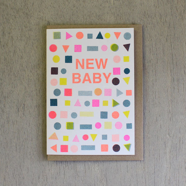 New Baby Mix Card