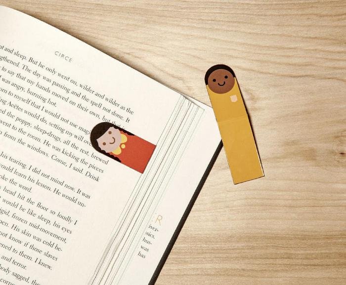 Magnetic Bookmarks - People
