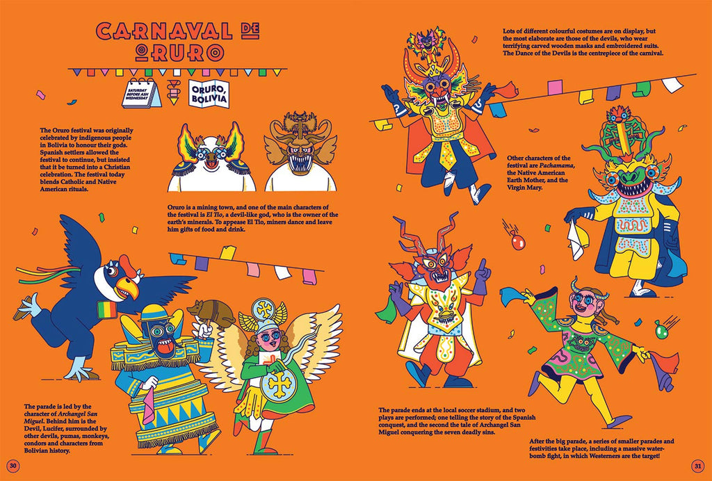 Festival Folk - An Atlas of Carnival Customs and Costumes