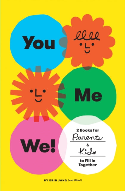 You, Me, We! - Set of 2 Fill-in Books for Parents and Kids to Fill in Together
