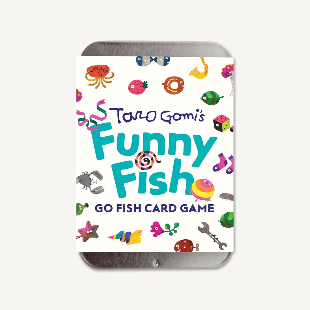 Taro Gomi's Funny Fish - Go Fish Card Game