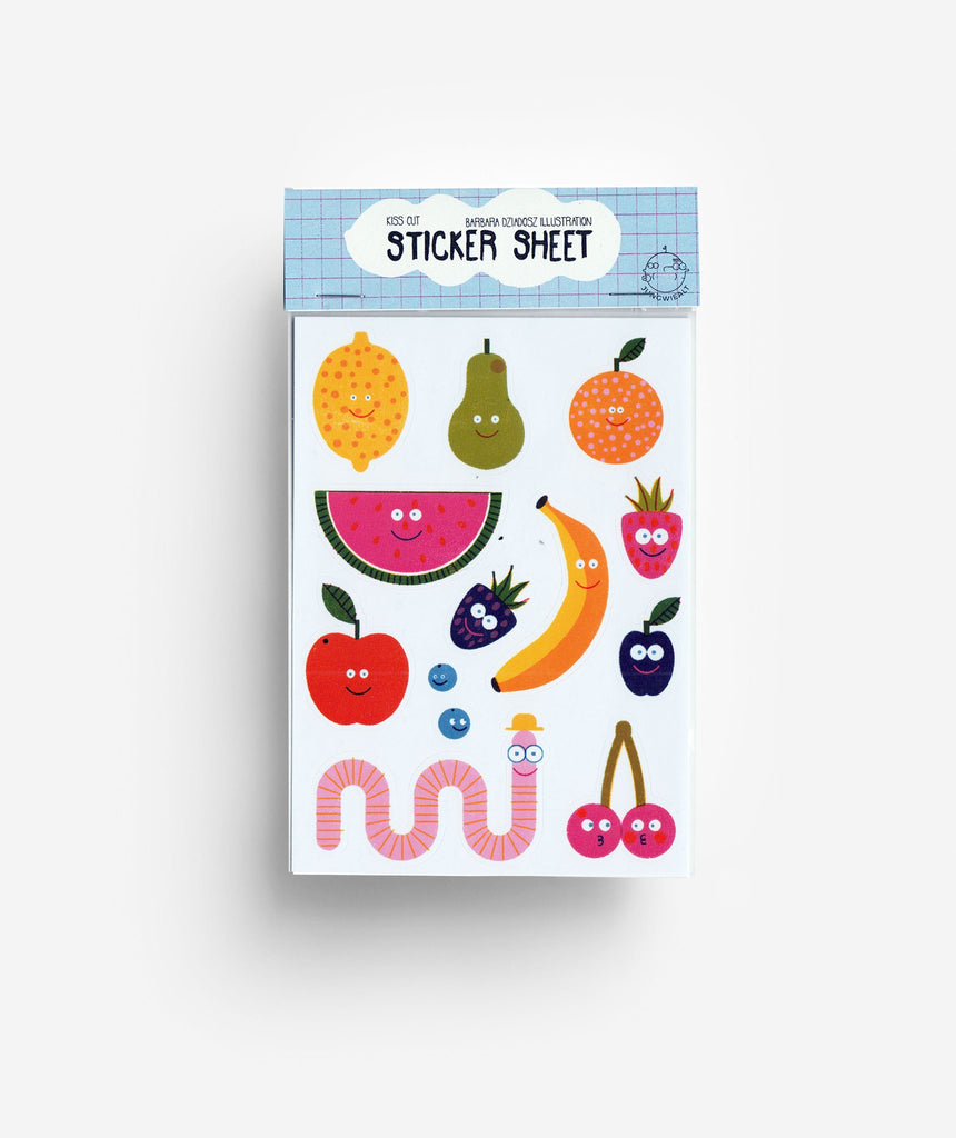 Jungwiealt - Fruits Stickers