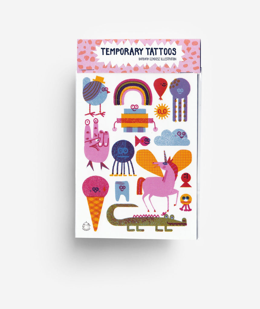 Jungwiealt - Creatures Temporary Tattoos