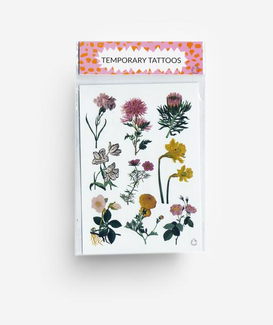 Jungwiealt - Flowers Temporary Tattoos