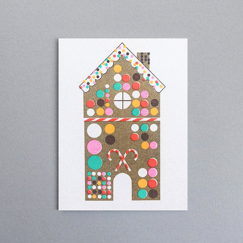 Scout Editions Gingerbread House Mini Card