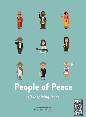People Of Peace - 40 inspiring Iconic