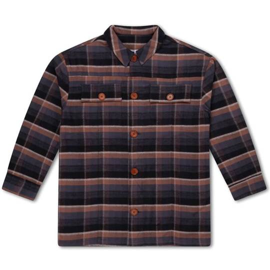 Repose Ams Velvet Check Shirt